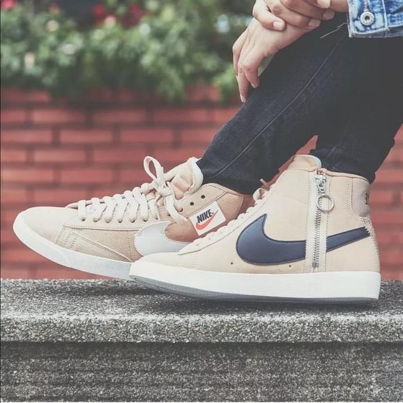 f46f8f9e7309 Women s Nike Blazer Mid Rebel Sneakers